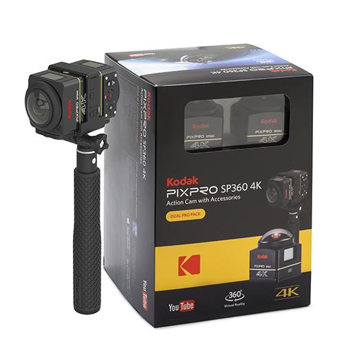 Sp360 4k Dual Pro Pack Kodak Pixpro Digital Cameras